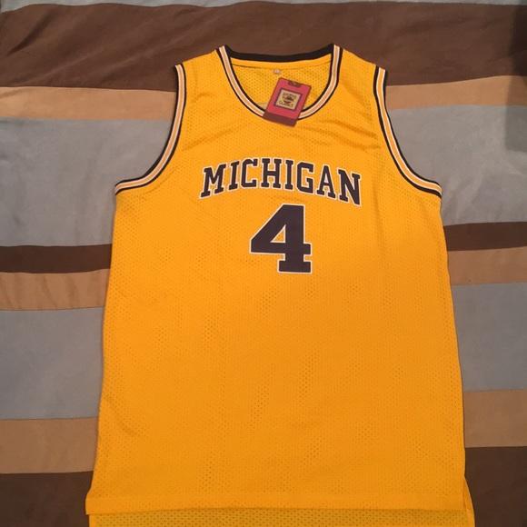 timeless design a881d afb20 Chris Webber Michigan jersey. NWT. Large. NWT